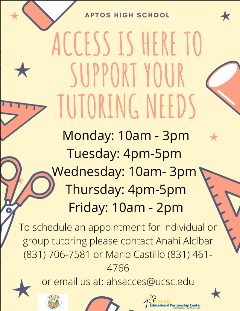 Access Program Tutoring Info