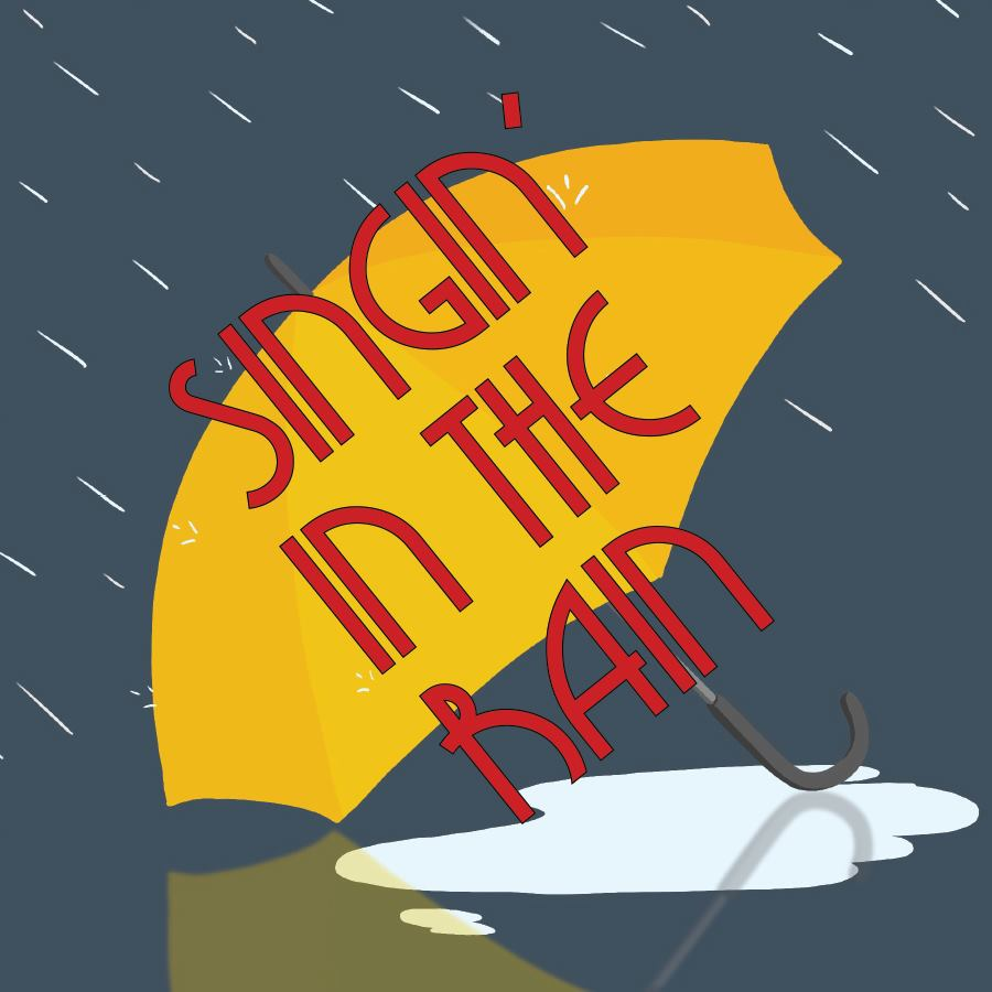 Singin' In The Rain poster and ticket link
