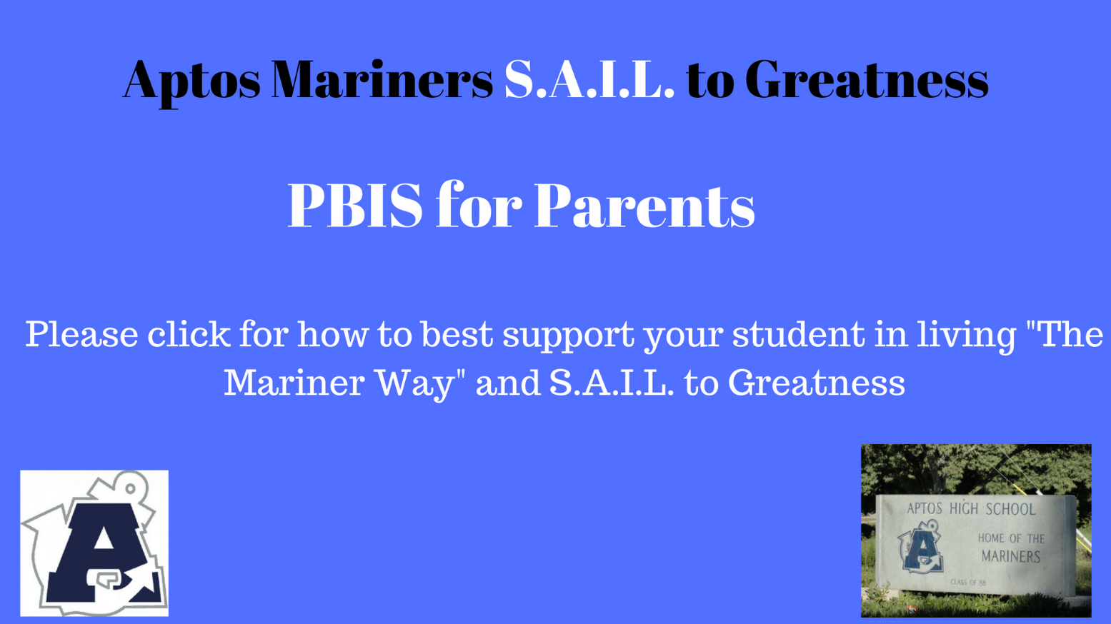 PBIS for Parents