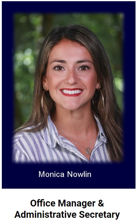 Office Manager Monica Nowlin