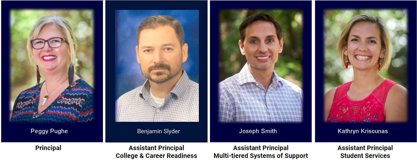 Aptos High Administrative team