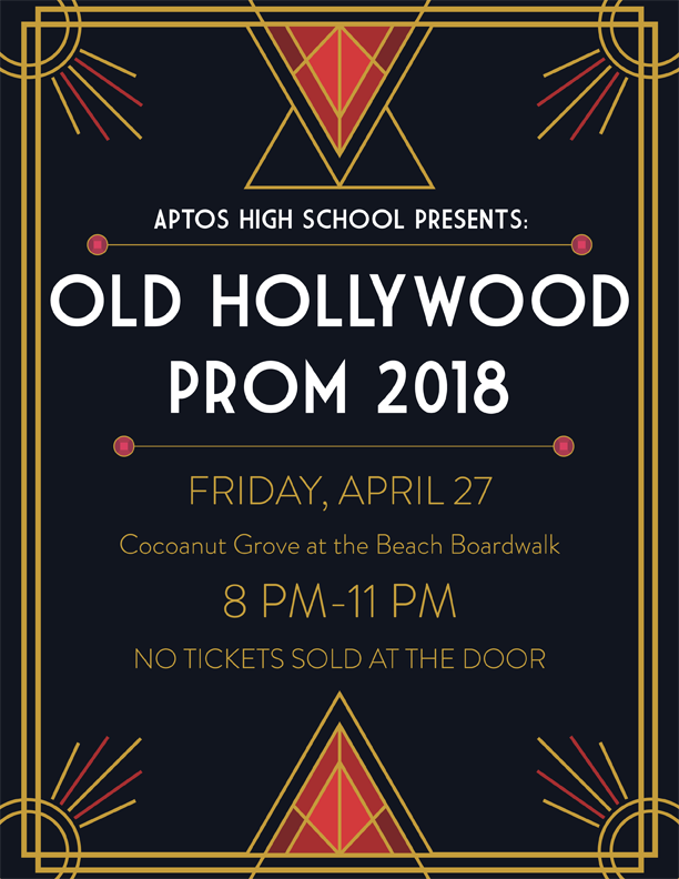Prom 2018: Old Hollywood Friday April 27 @Cocoanut Grove