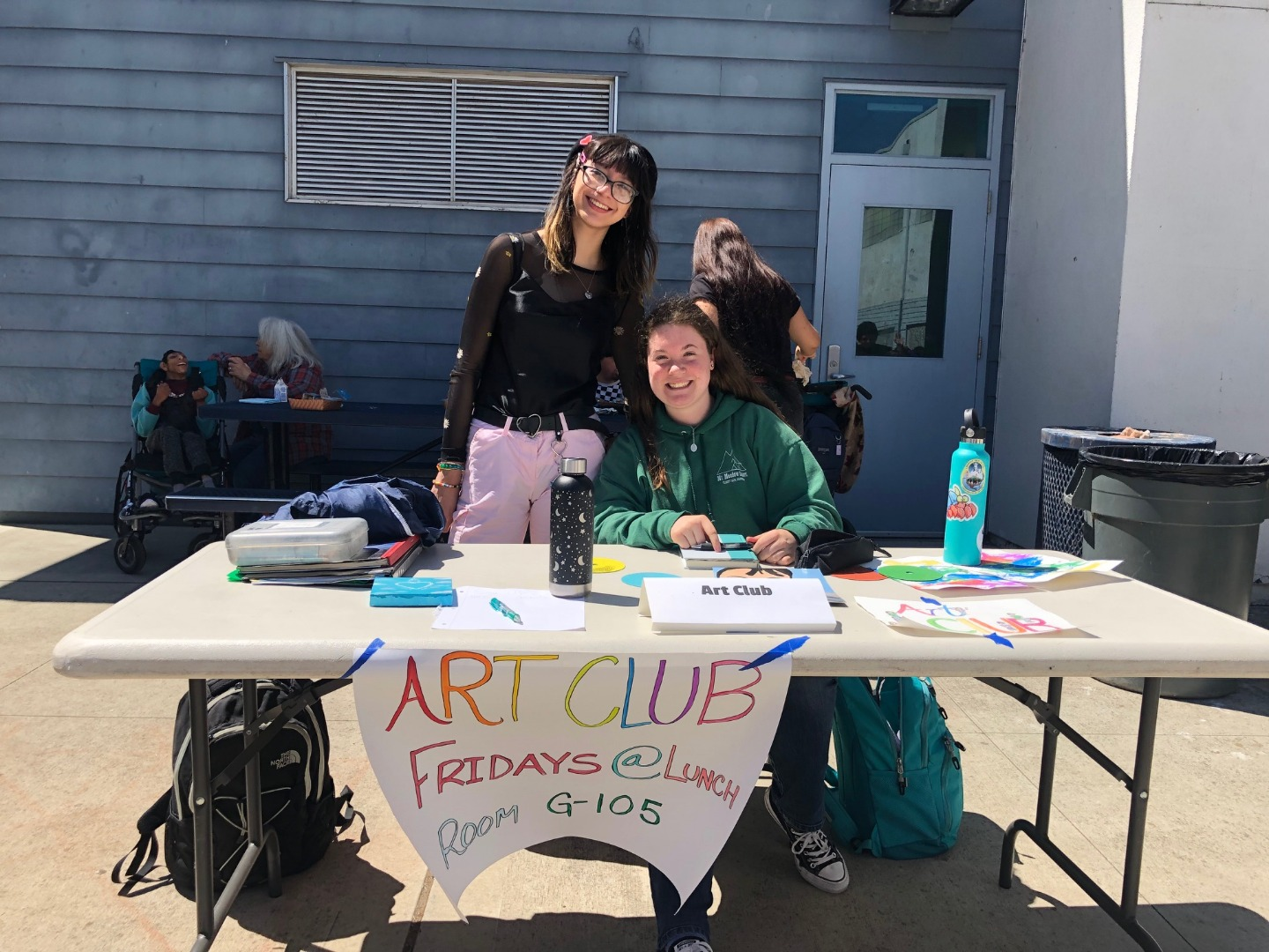 Art Club at Club Rush