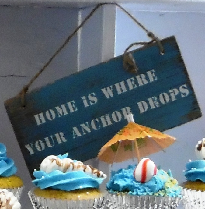 Home is Where you anchor drops