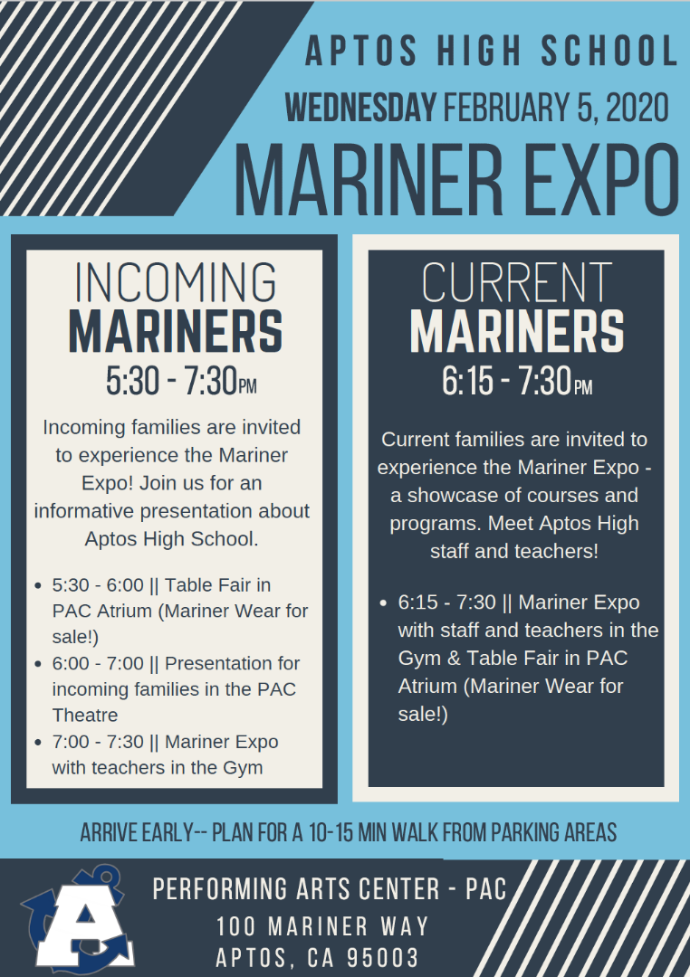 AHS Mariner Expo Event