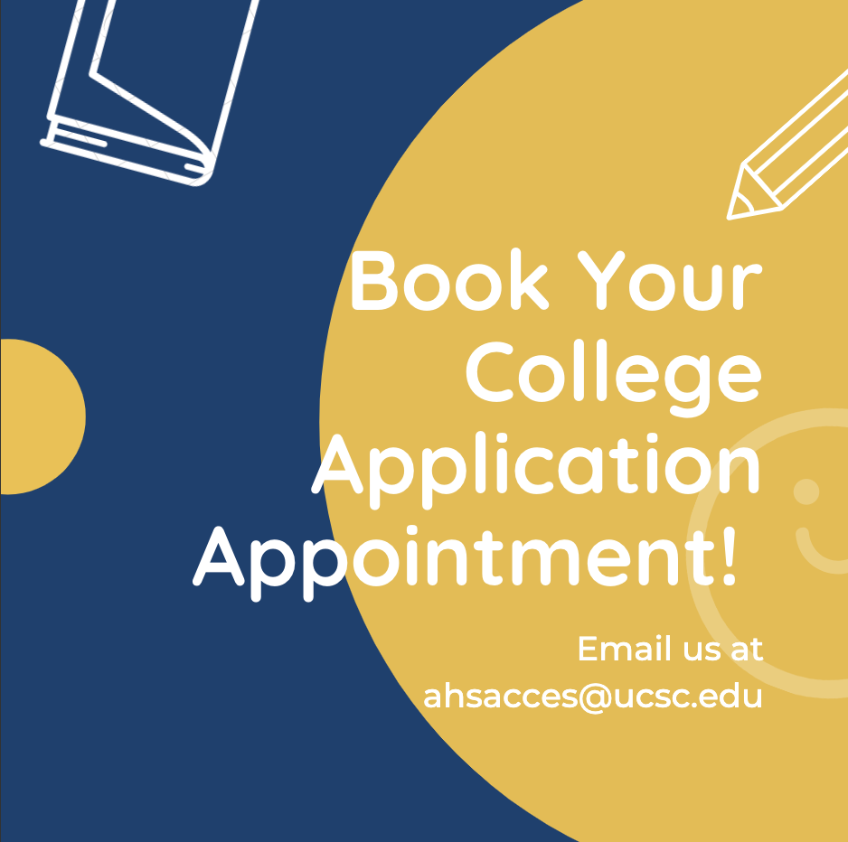 book your college application appt