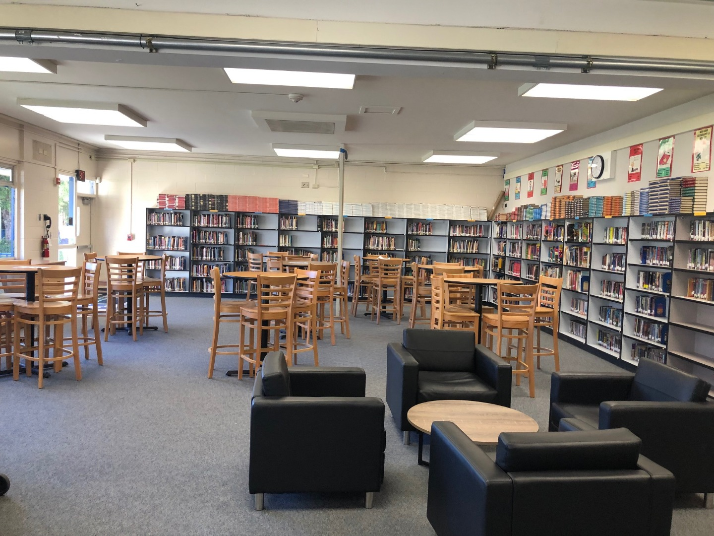 a picture of the a j h s library