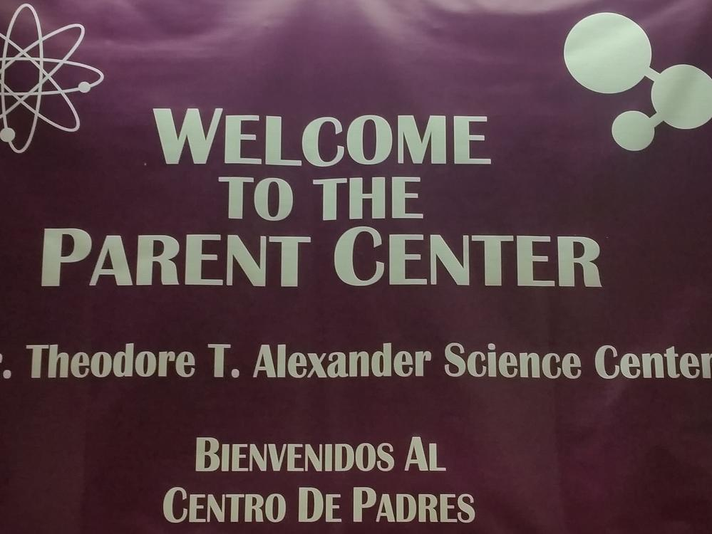 Parent Center banner