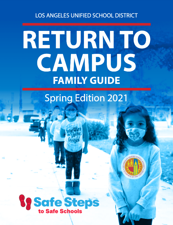 return to campus family guide english