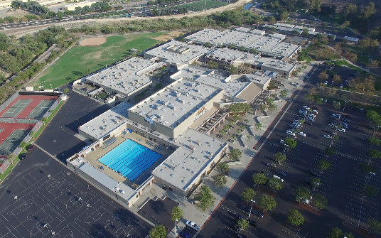 Aerial View of ANHS