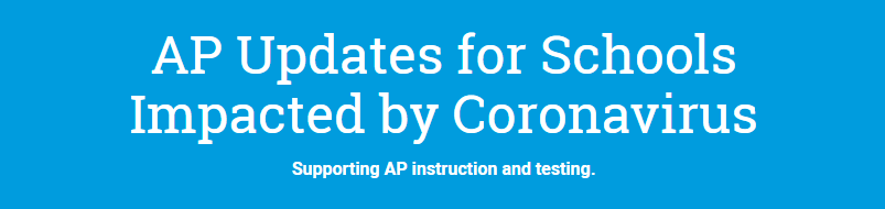 AP Updates for Schools