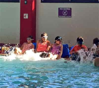 ASP Students Swimming