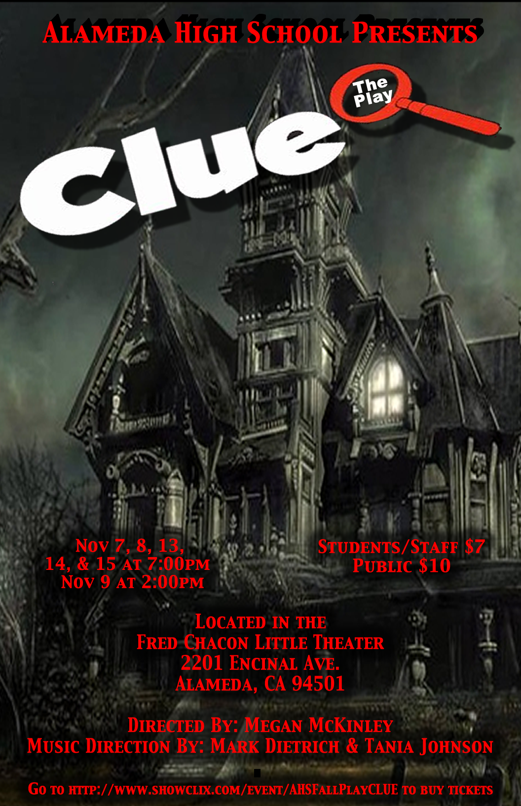 FALL PLAY PROMOTIONAL POSTER!!!