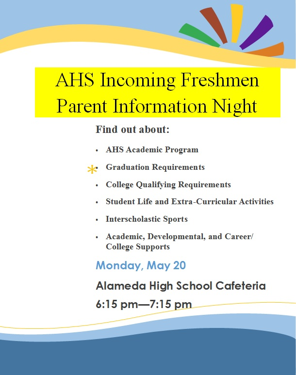 Indoming freshmen night