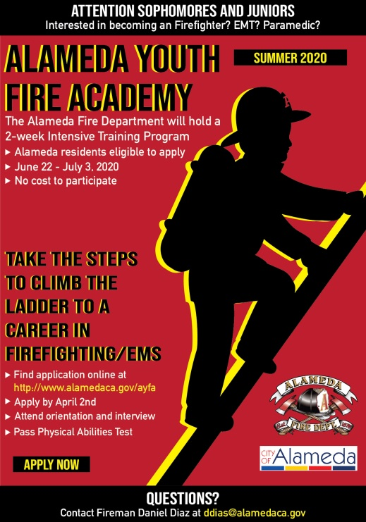 Youth fire academy