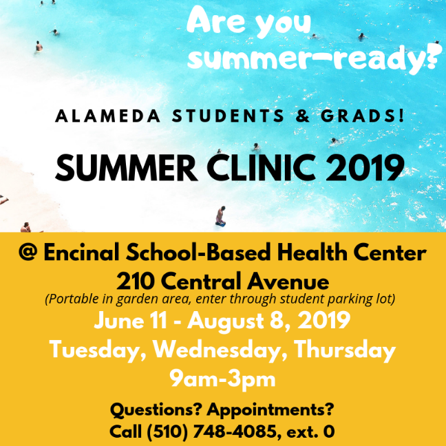 summer clinic hours