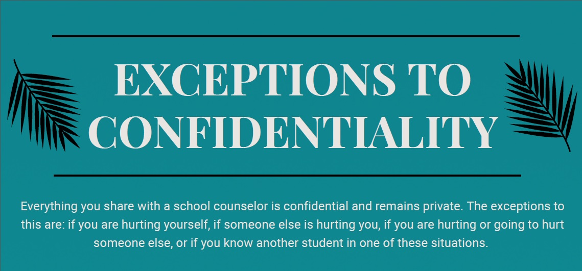 confidentiality flyer