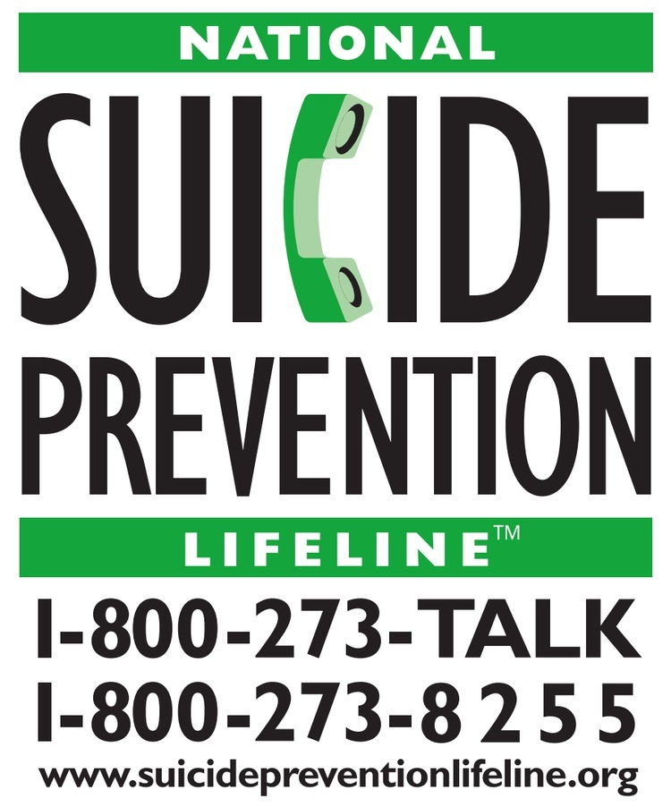 national suicide hotline