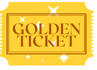Golden ticket raffle