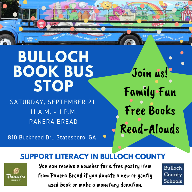 Book Bus Stop flyer
