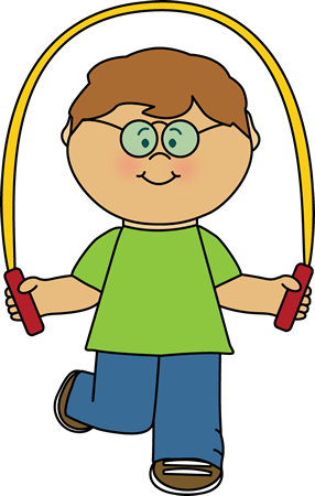 kid with jump rope