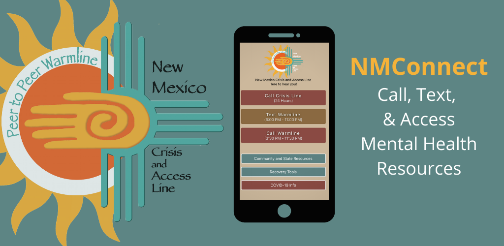 New Mexico connect cell phone app
