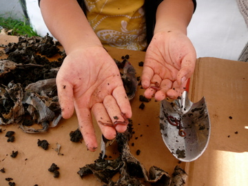 Composting with Worms is Fun!