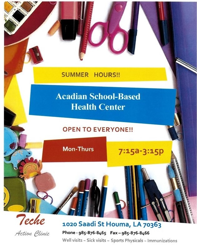 Tech Action Clinic Summer Hours