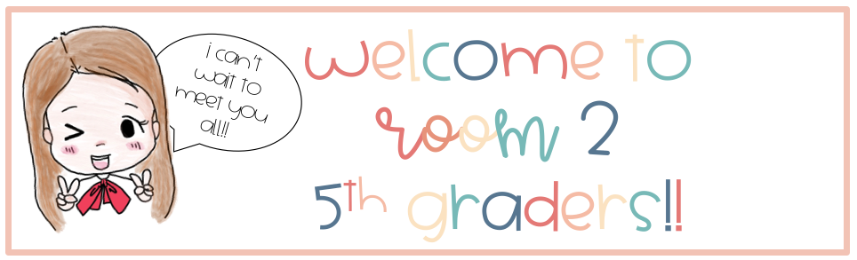 welcome to room 2