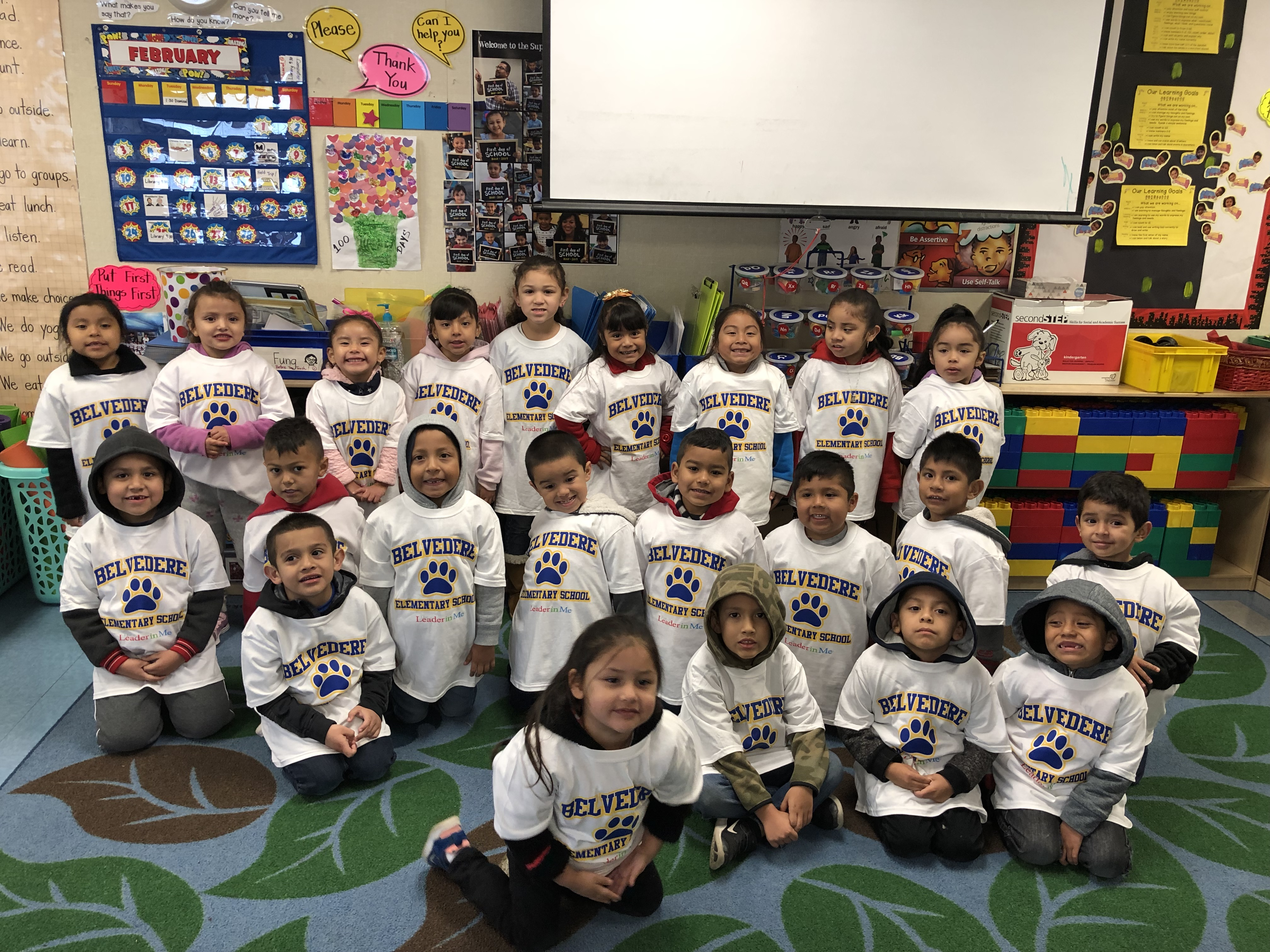 We are Room 27!