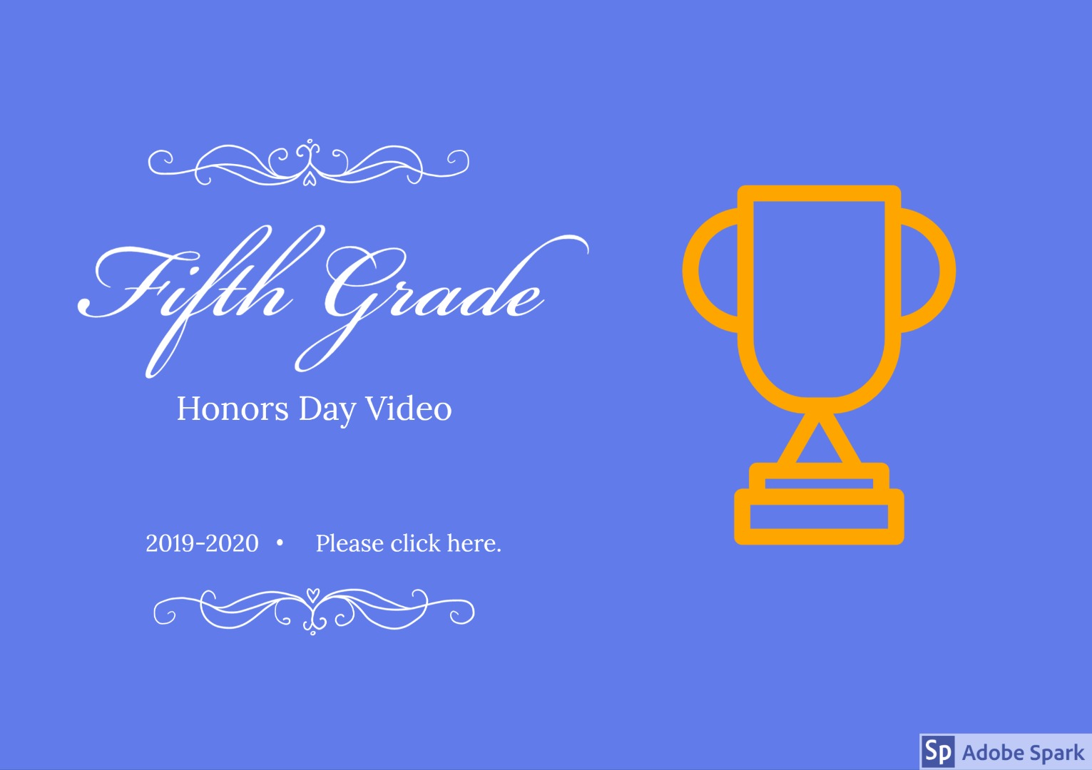 fifth grade honors video