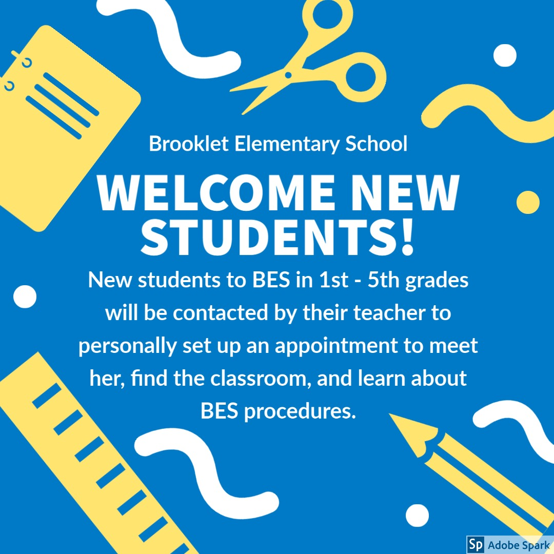 new student flyer