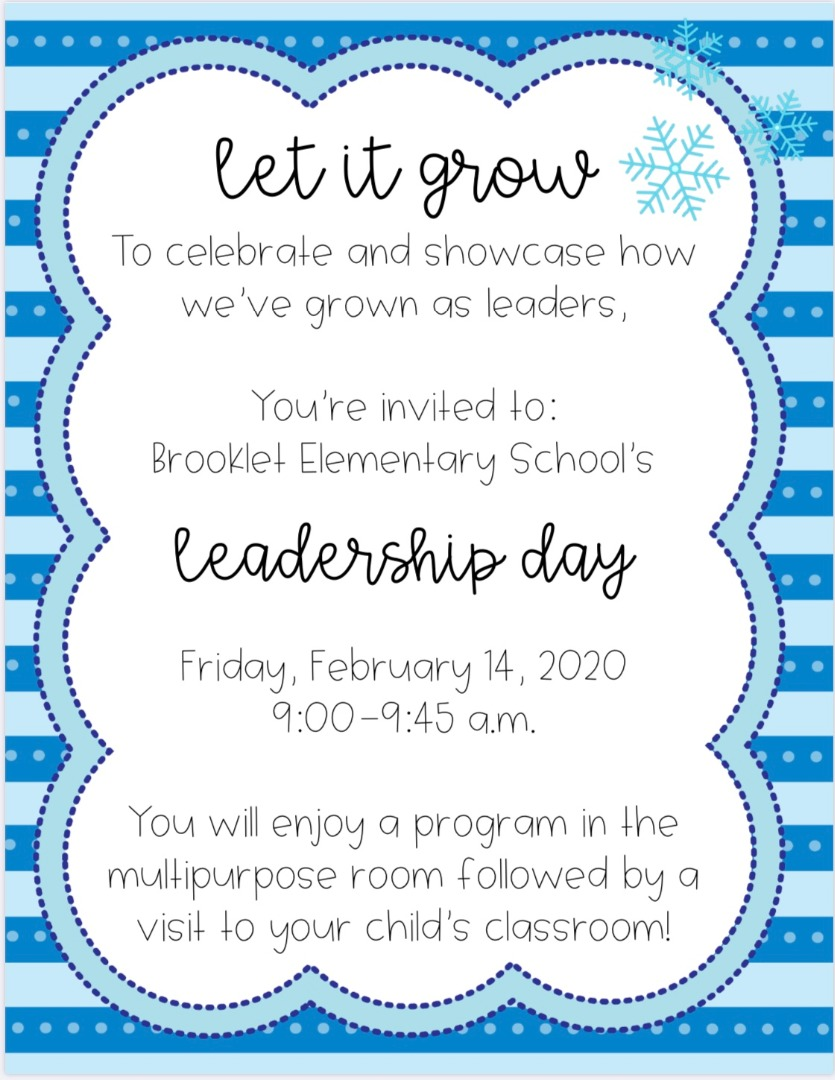 LEAD day flyer