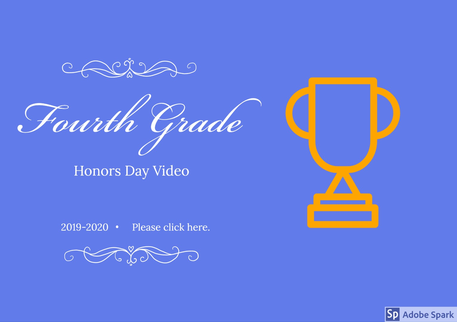 fourth grade honors video