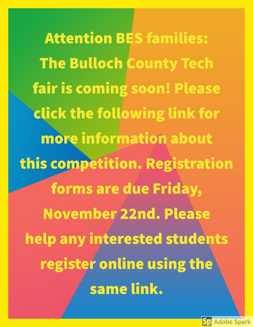 tech fair flyer