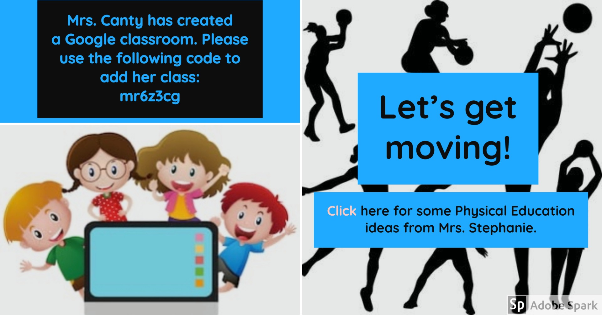 iReady and PE flyer