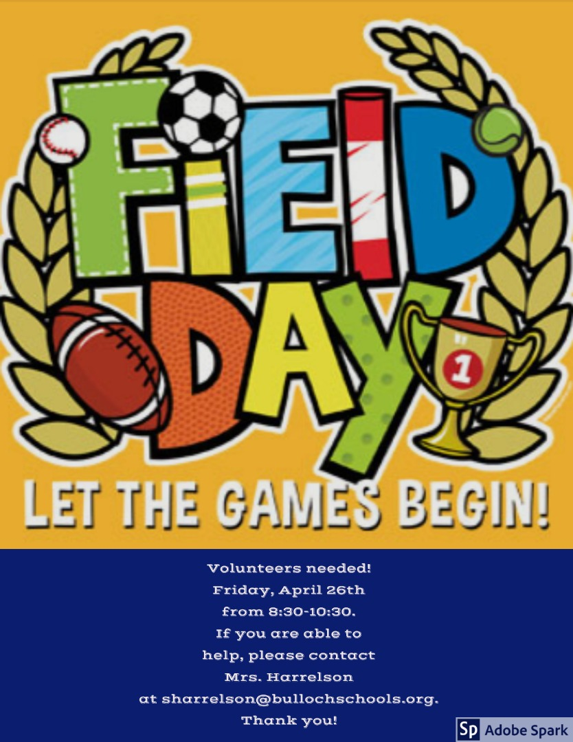 field day volunteer flyer