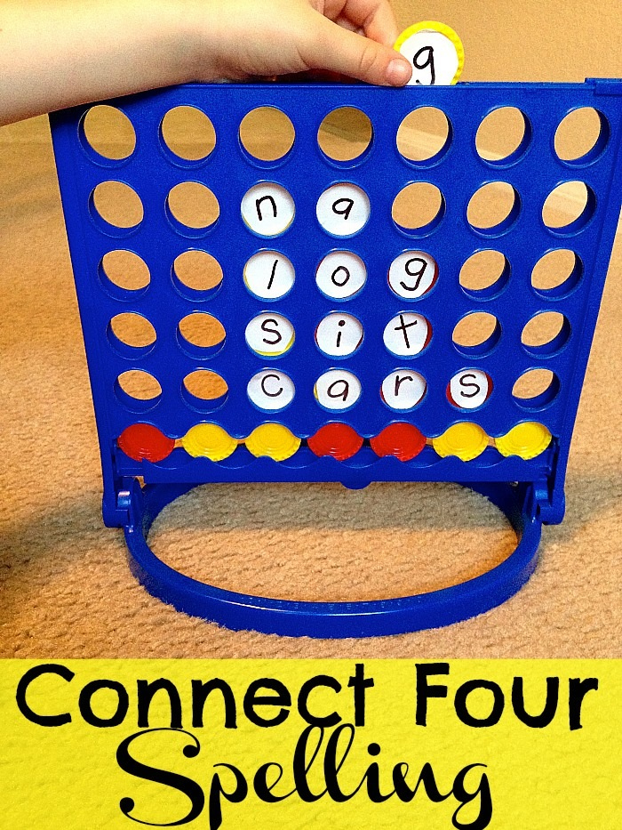 Connect Four Spelling