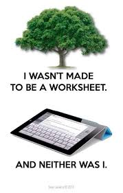 No Worksheets