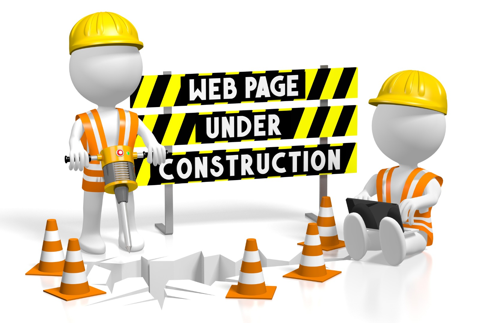 We Page under Construction