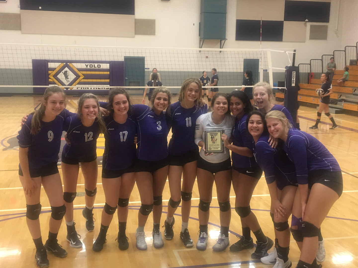 JV Group Volleyball Photo
