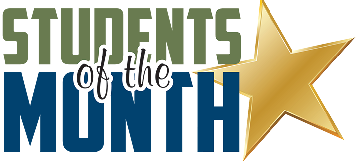 Students of the Month logo