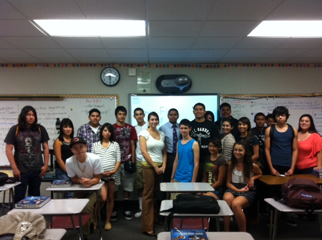 Ms. Kocharian & Mrs. Flores' meeting Ms. Flores and Mr. Infanzon