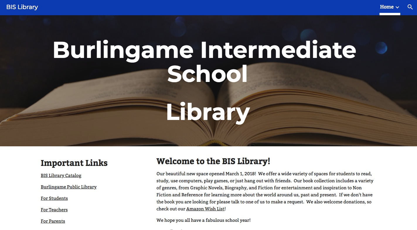 BIS Library Site link