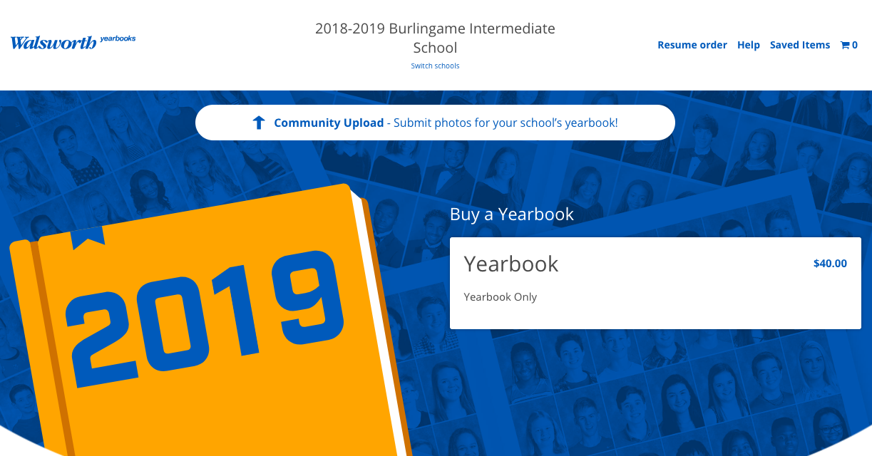 Walsworth 2019 Order Page