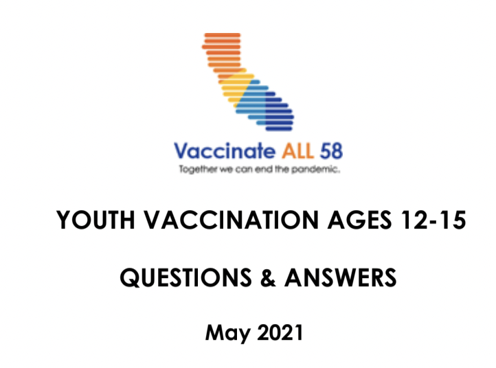 Youth Vaccination Q&A English