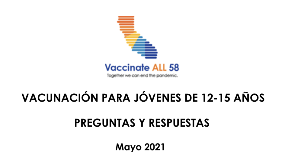 Youth Vaccination Q&A Spanish