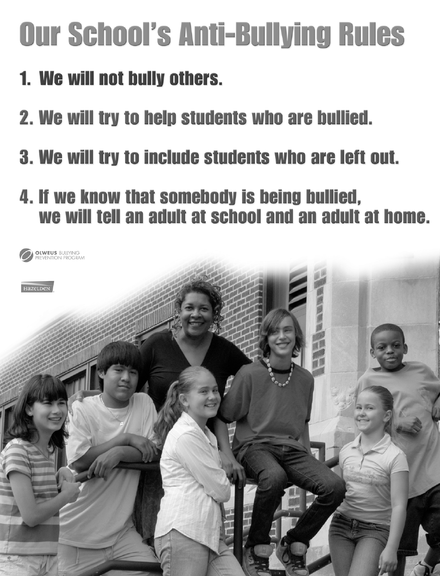 Our School's Anti-Bullying Rules