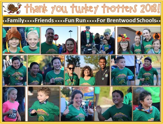 Thank you Turkey Trotters 2018