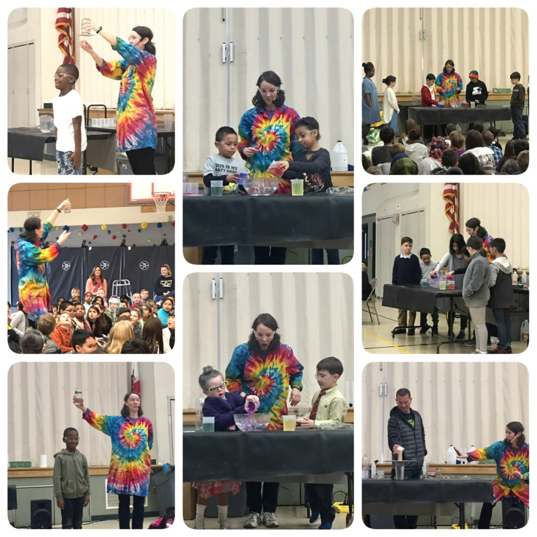 Marsh Creek Science Teller Assembly